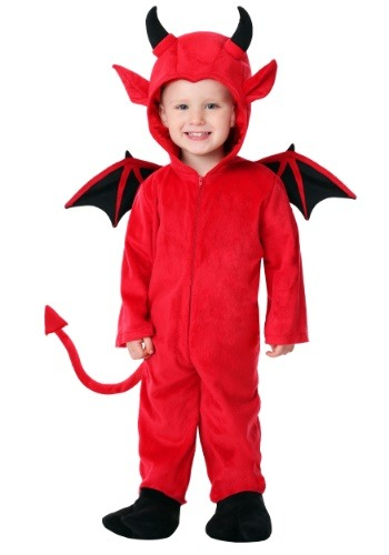 Click Here to buy Toddler Adorable Devil Costume from HalloweenCostumes, CDN Funds & Shipping