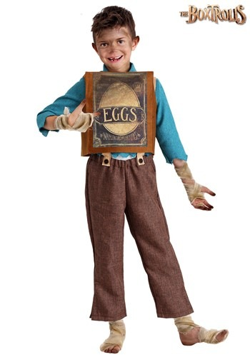Childs Boxtrolls Eggs Costume