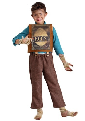 Click Here to buy BoxTrolls Eggs Kids Costume from HalloweenCostumes, CDN Funds & Shipping