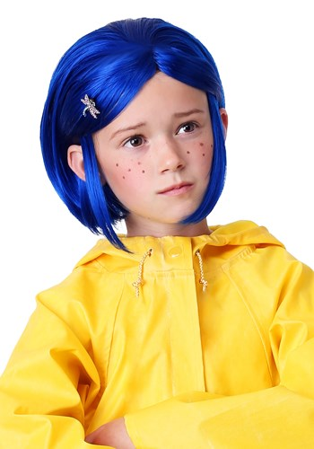 Click Here to buy Girls Coraline Wig from HalloweenCostumes, CDN Funds & Shipping