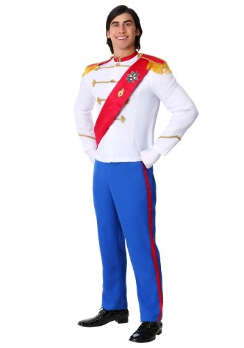 Mens Charming Prince Costume
