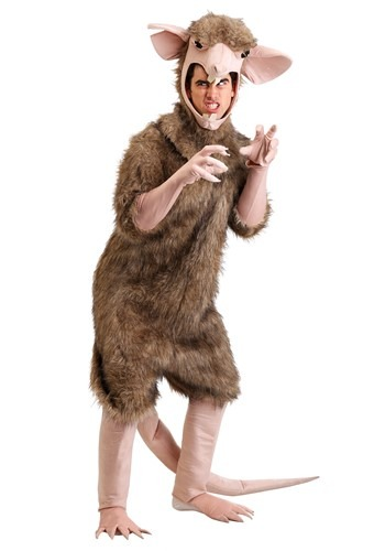 Sewer Rat Costume for Men