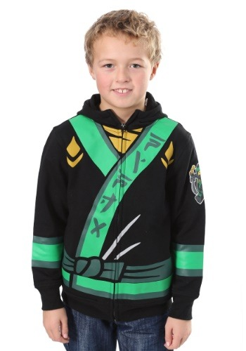 Boy's Ninjago Costume Hooded Sweatshirt