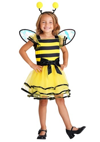 Click Here to buy Little Bitty Bumble Bee Girls Costume from HalloweenCostumes, CDN Funds & Shipping