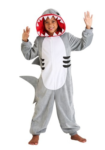 Click Here to buy Shark Kids Onesie from HalloweenCostumes, CDN Funds & Shipping