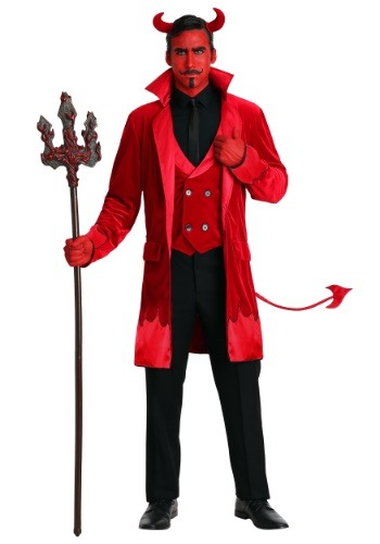 Men's Debonair Devil Costume