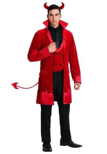 Click Here to buy Debonair Devil Costume For Men from HalloweenCostumes, CDN Funds & Shipping