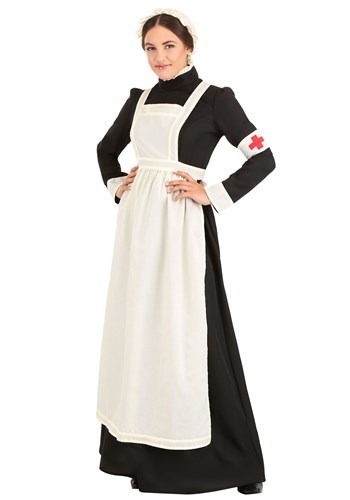Click Here to buy Florence Nightingale Womens Costume from HalloweenCostumes, CDN Funds & Shipping
