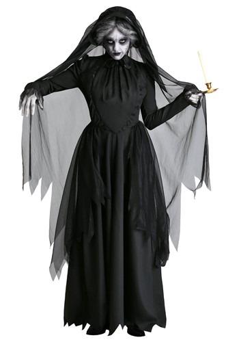 Lady in Black Women's Ghost Costume