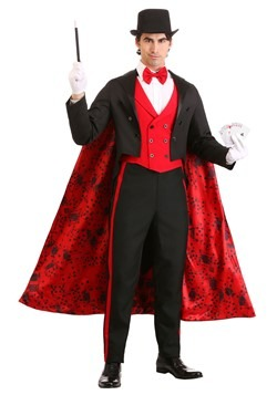 Men's Deluxe Magician Costume