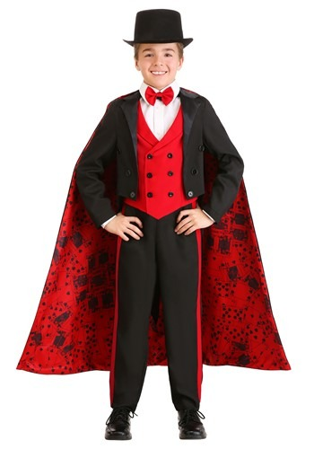 Deluxe Magician Costume for Boys