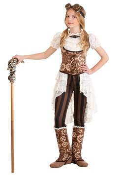 Girl's Victorian Steampunk Lady