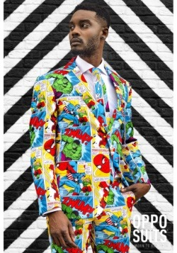 Men's OppoSuits Marvel Comics Suit1