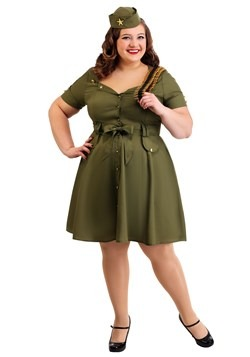Plus Size Vintage Combat Cutie for Women