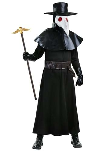 Adult Plus Size Plague Doctor Costume
