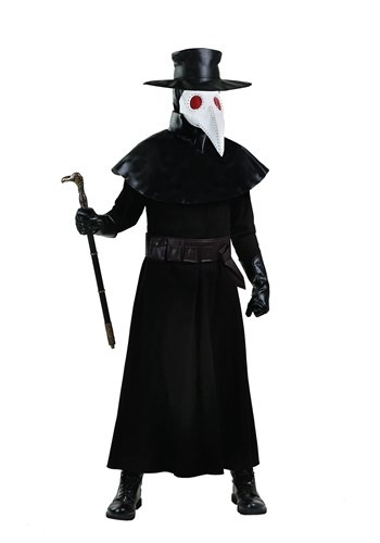 Click Here to buy Adult Plague Doctor Plus Size Costume | Historical Costume from HalloweenCostumes, CDN Funds & Shipping