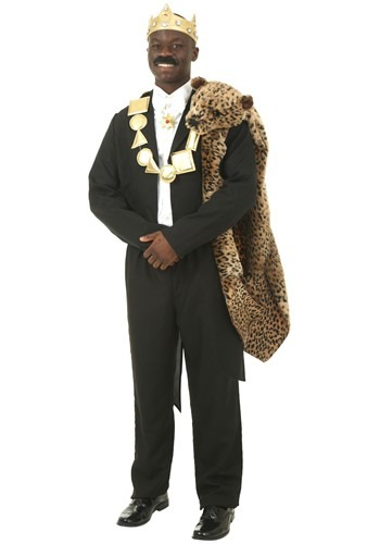 Coming to America Akeem Costume for Plus Size Adults
