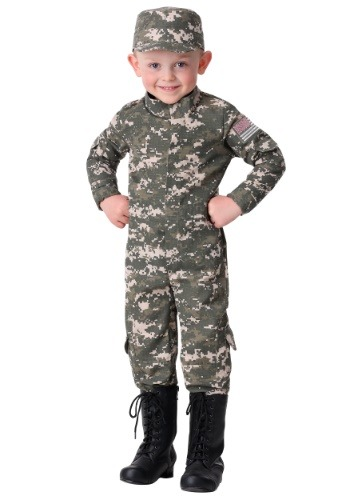 Click Here to buy Modern Combat Uniform Costume for a Toddler from HalloweenCostumes, CDN Funds & Shipping