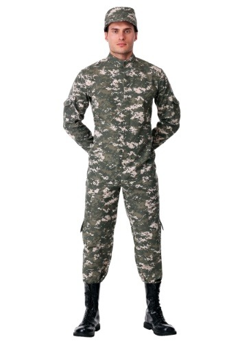 Modern Combat Soldier Mens Costume