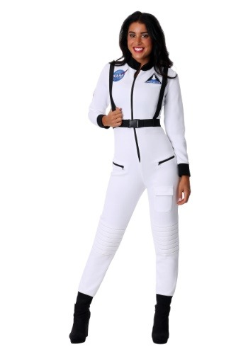 White Astronaut Womens Costume