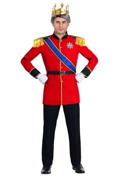 European King Costume Men's