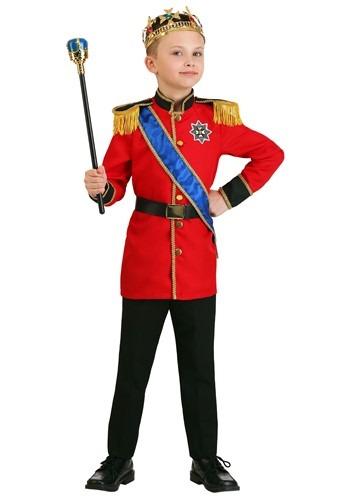 European King Costume Boys