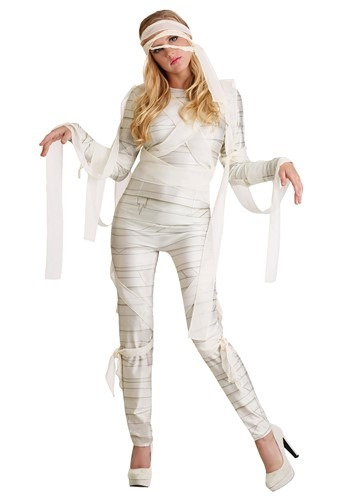 Womens Under Wraps Mummy Costume