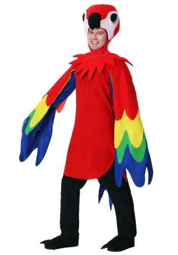 Click Here to buy Parrot Costume for Adult from HalloweenCostumes, CDN Funds & Shipping