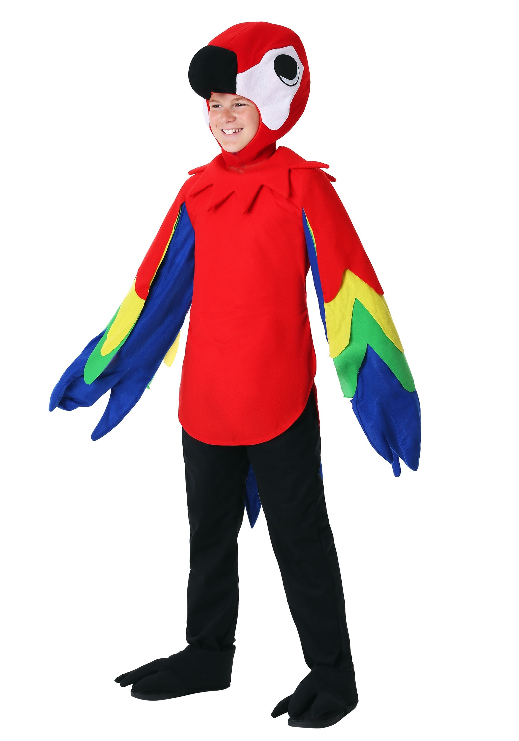 INOpets.com Anything for Pets Parents & Their Pets Parrot Costume for Children