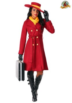 Women's Plus Carmen Sandiego Costume