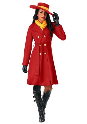 Click Here to buy Plus Size Womens Carmen Sandiego Costume from HalloweenCostumes, CDN Funds & Shipping