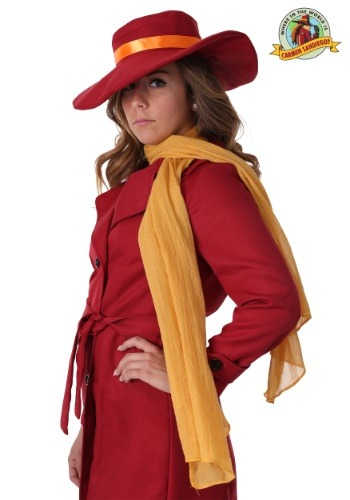 Carmen Sandiego Scarf Accessory update