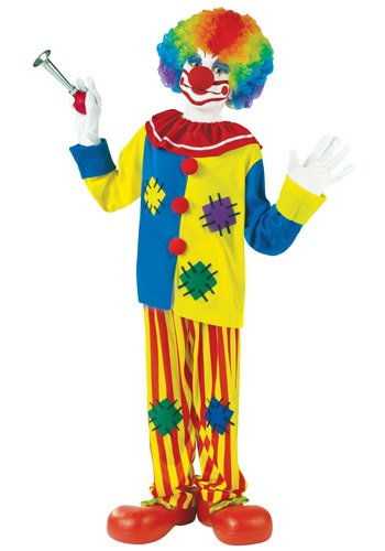 Big Top Clown Costume for Kids