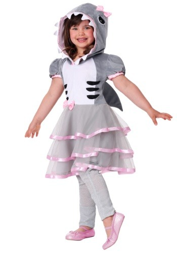 Click Here to buy Girls Shark Sweetie Costume from HalloweenCostumes, CDN Funds & Shipping