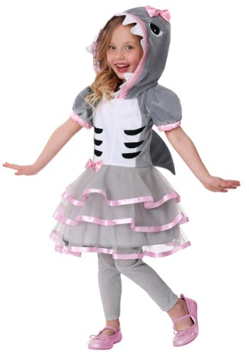 Click Here to buy Toddler Girls Shark Sweetie Costume from HalloweenCostumes, CDN Funds & Shipping