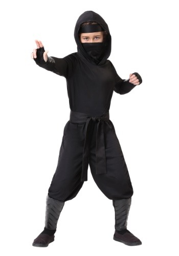 Stealth Shinobi Ninja Child Size Costume