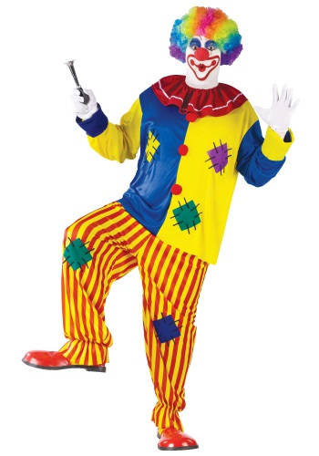 Click Here to buy Plus Size Big Top Clown Costume from HalloweenCostumes, CDN Funds & Shipping