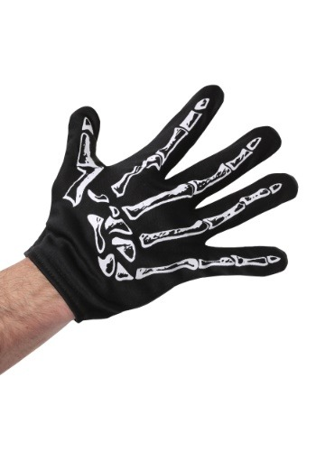 Adult Men's Skeleton Gloves