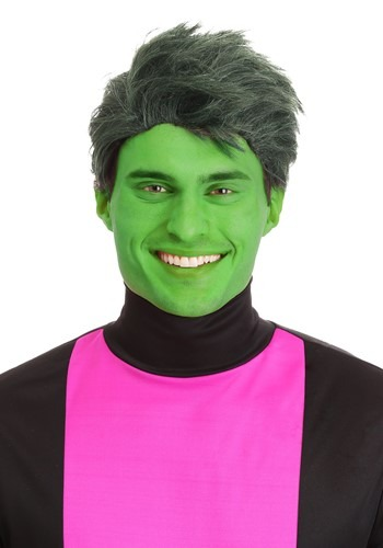Click Here to buy Green Shapeshifting Superhero Wig for Men from HalloweenCostumes, CDN Funds & Shipping