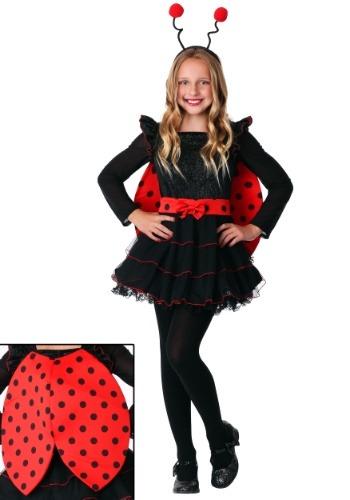 Girl's Sweet Ladybug Costume