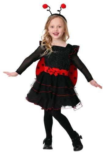 Toddler Girls Sweet Ladybug Costume