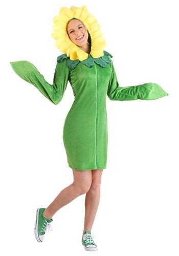 Women's Flower Hoodie Dress