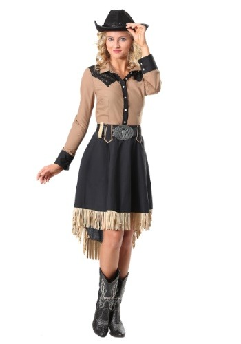 Click Here to buy Lasson Cowgirl Plus Size Womens Costume from HalloweenCostumes, CDN Funds & Shipping