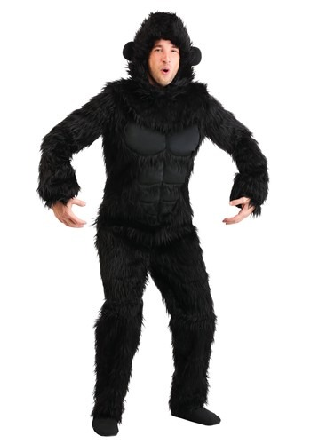 Click Here to buy Gorilla Costume for Adults from HalloweenCostumes, CDN Funds & Shipping