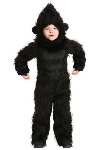 Click Here to buy Gorilla Costume for Toddlers from HalloweenCostumes, CDN Funds & Shipping