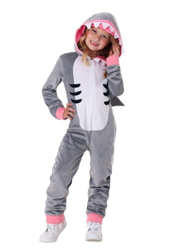 Click Here to buy Girls Cozy Shark from HalloweenCostumes, CDN Funds & Shipping