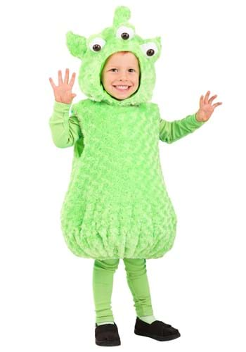 Click Here to buy Toddlers Alien Costume from HalloweenCostumes, CDN Funds & Shipping