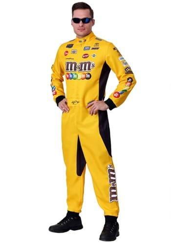 Kyle Busch Plus Size NASCAR Uniform Costume