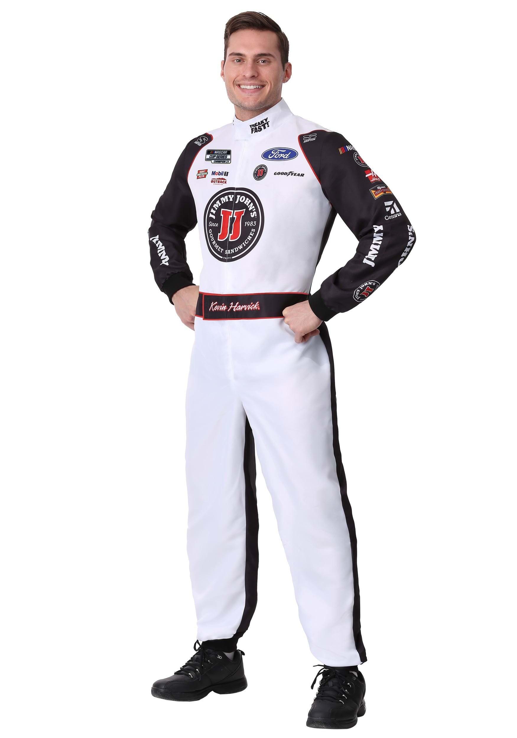 #4 Kevin Harvick(R) Jimmy John's Adult Plus Uniform Costume