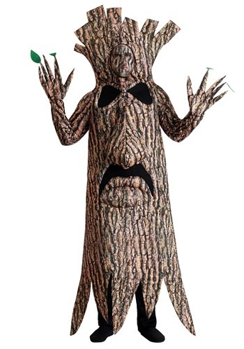 Click Here to buy Terrifying Tree Costume for Adults from HalloweenCostumes, CDN Funds & Shipping